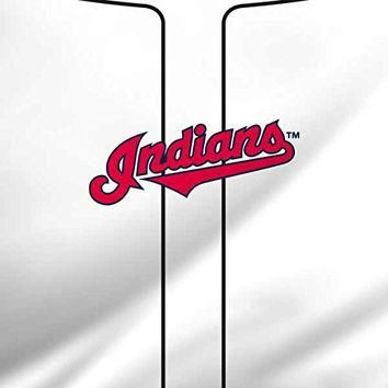MLB Cleveland Indians iPad Mini 4 Skin - Cleveland Indians Home Jersey Vinyl Decal Ski