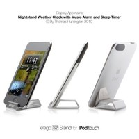 elago S2 Stand for iPod Touch 2G, 2.5G-Silver