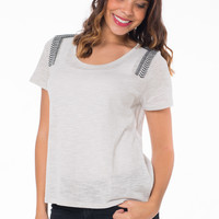 Ellie the Embroidered Top