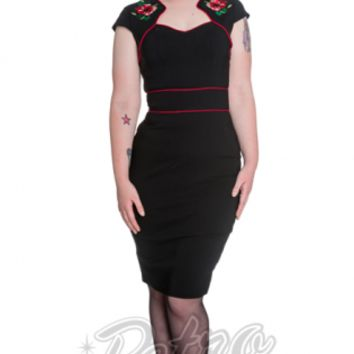 Retro Glam - Hell Bunny Hibiscus Dress