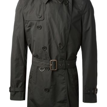 Burberry Brit Mid-Length Trench Coat