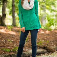 The London Sweater, Green