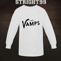 the vamps shirt the vamps band indie t-shirt tshirt t shirt printed long sleeve unisex size - 02