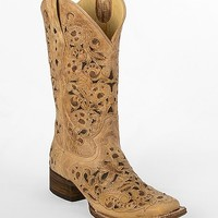 Corral Two-Tone Square Toe Cowboy Boot