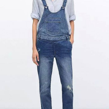 Ripped Dungarees