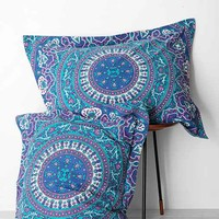 Magical Thinking Ophelia Medallion Sham Set- Blue One