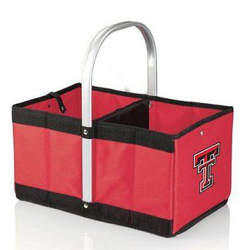 PICN-546001005740-NCAA Texas Tech Red Raiders Urban Market Basket, Red