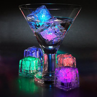 LED Color Changing Glow In The Dark Light Ice Cubes