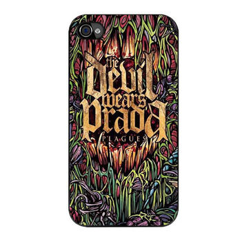 devil wears prada band cover album plagues iPhone 4 4s 5 5s 5c 6 6s plus cases