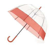 Salmon Clear Umbrella by Hunter Boot