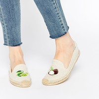 Soludos Lime and Coconut Lime and Coconut Espadrille Flat Shoes