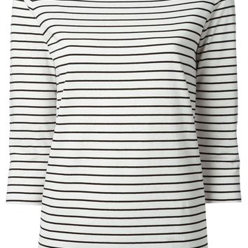 Gucci horizontal stripe T-shirt