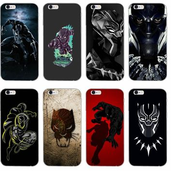 Black Panther Phone Cases For LG G2 G3 mini spirit G4 G5 G6 K4 K7 K8 K10 2017 V10 V20