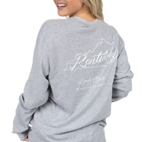 Kentucky Line Art Tee - Long Sleeve – Lauren James Co.