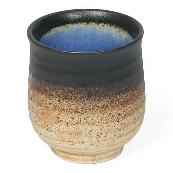 Gem Japanese Tea Cups - Cobalt and Jade