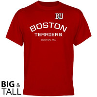 Boston University Calling Card Big and Tall T-Shirt - Scarlet
