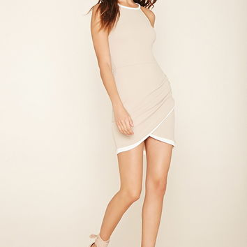 Tulip-Hem Bodycon Dress