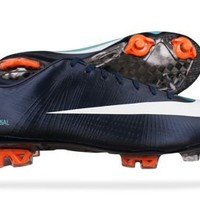 Nike Mercurial Vapor Superfly II FG Mens soccer Boots / Cleats - Dark Blue - SIZE US 7