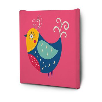 Cute Animals Pictures Series Canvas Wall Art Decal Painting Prints Decor Bird3