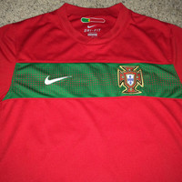 Sale!! Vintage Nike PORTUGAL National Team Soccer Jersey Football Shirt
