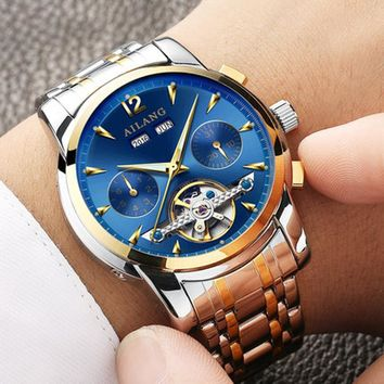 Ailang Bright Sapphire Tourbillon Automatic Watch