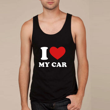 I Love My Car Tank Top