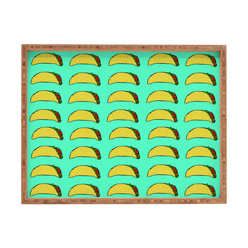 Leah Flores Taco Party Rectangular Tray