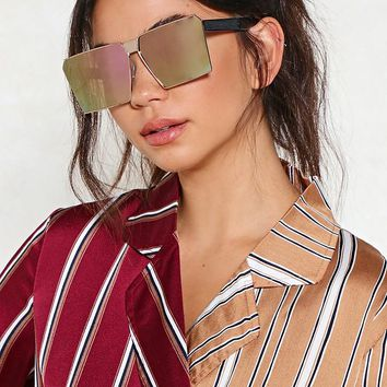 Square Eyes Oversized Shades