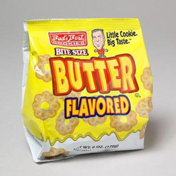 Buds Best Butter Flavored Cookies Case Pack 12