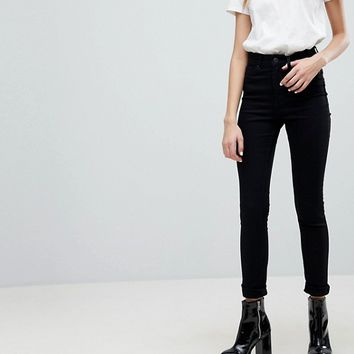 Monki Oki Premium Skinny High Waisted Jeans at asos.com