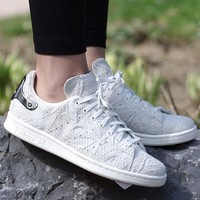 "Stan Smith Metal W ""Silver Heel"""
