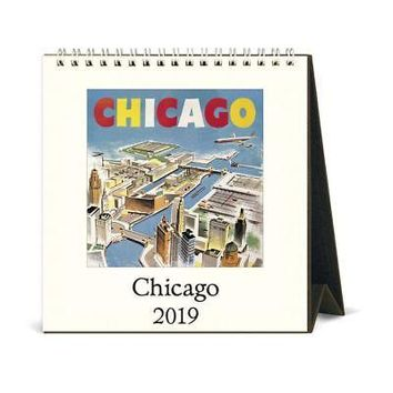 Chicago Easel Desk Calendar, Chicago by Cavallini Papers & Co.