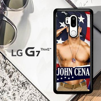 John Cena Flag W3176 LG G7 ThinQ Case