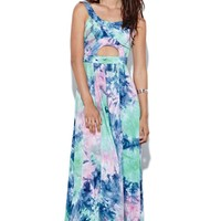 This is a love song Holly Dress - Womens Dress - Tie Dye -