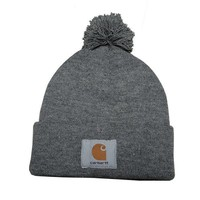 Carhartt Women Men Embroidery Winter Beanies Knit Hat Cap-8