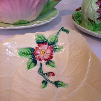 Beautiful, Carlton ware, wild rose jam/ preserve/ butter dish!!
