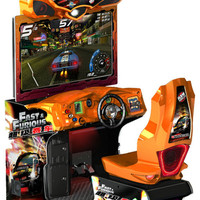 Arcade Games - Fast & Furious Supercars Arcade Game - The Pinball Company