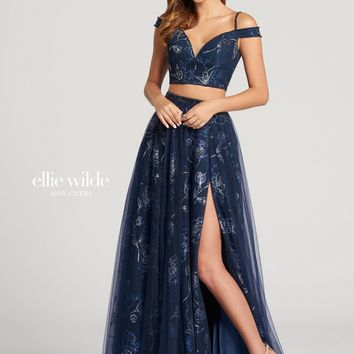 Ellie Wilde EW118174- Navy Blue