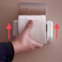 EZ-Load Toilet Paper Holder — Tools and Toys