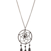 Silver Dream Catcher Necklace | Hot Topic