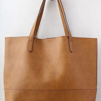 Conquer Brown Tote