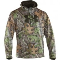 Camo Big Logo Hoody by Under Armour in Mossy Oak Obession, Size XL