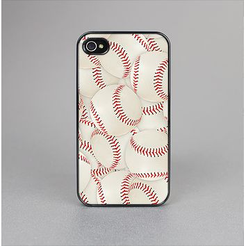 The Baseball Overlay Skin-Sert for the Apple iPhone 4-4s Skin-Sert Case