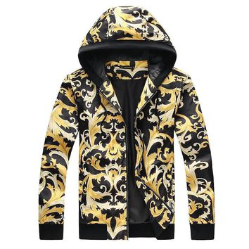 Versace Cardigan Jacket Coat-6