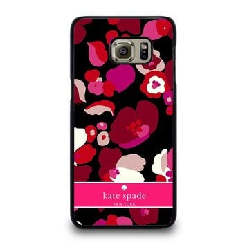 KATE SPADE NEW YORK FLORAL Samsung Galaxy S6 Edge Plus Case Cover