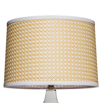 Threshold™ Woven Cane Lamp Shade - Yellow Large