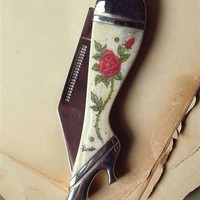 Miss Kitty's Bone Purse Knife