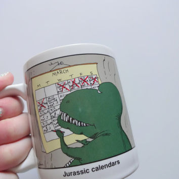 Vintage The Far Side Ceramic Coffee Mug 1993