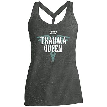 Nurse Shirt Funny Trauma Queen Women tees n tanks