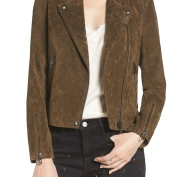 BLANKNYC No Limit Suede Moto Jacket | Nordstrom